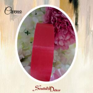 Papirna traka S13-crvena-3cm