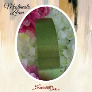 Papirna traka S13-maslinasto zelena-3cm