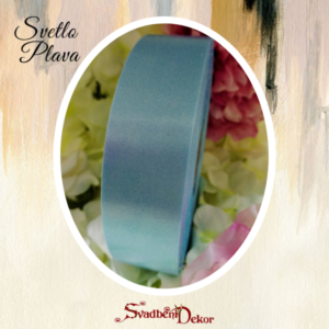 Papirna traka S13-svetlo plava 3cm