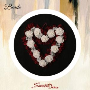 Dekorativno srce S8 bordo