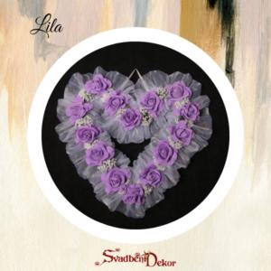 Dekorativno srce S8 lila