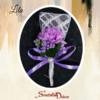 Deverski cvet S171-ljubicasta