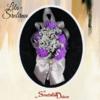 Deverski cvet S55 lila srebrna