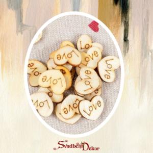 Drveno srce Love S564