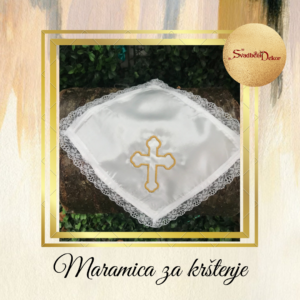 Maramica za krštenje S546