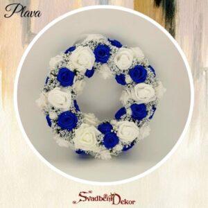 Dekorativni krug S175 plava