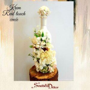 Čuturica S637-2 – real touch cveće krem