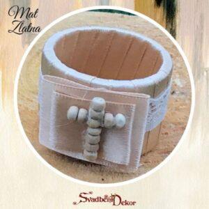 Slavski prstenovi za salvete S657-2 sa drvenim krstićem