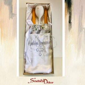 Set za venčanje S667 – zlatna i srebrna