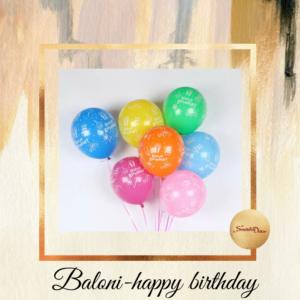 Baloni Happy birthday-10 komada  S152-2