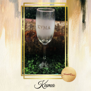 Čaša za šampanjac S361-Kuma