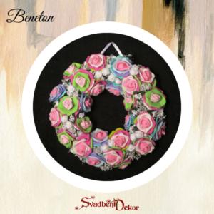 Dekorativni krug S175 beneton