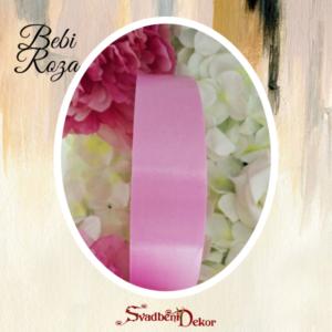 Papirna traka S13-bebi roza-3cm