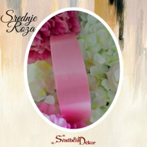 Papirna traka S13-srednje roza-3cm