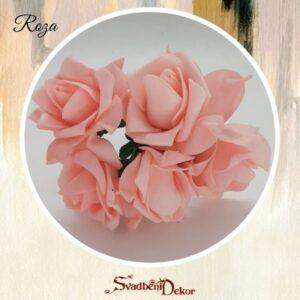 Gumirana velika ruža S113