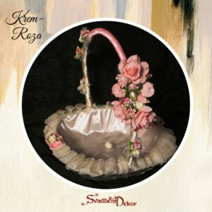 Korpa S3-Krem-Roza