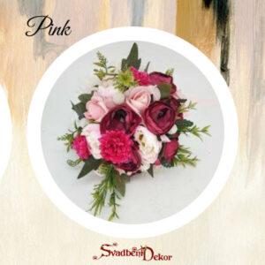 Bidermajer S539- pink