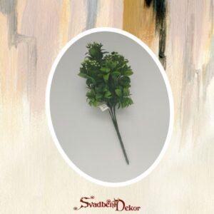 Zeleno real touch dekorativno cvece S565-2
