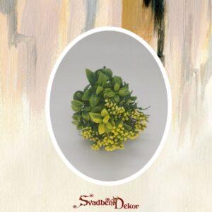 Zeleno real touch dekorativno cvece S565-3
