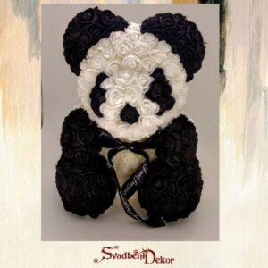 Panda od ružica S635