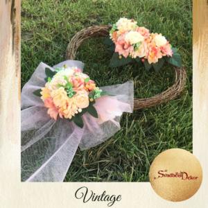 Dekorativno srce-vintage S639-2