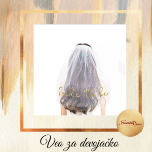 Veo za devojačko-BRIDE TO BE-S625