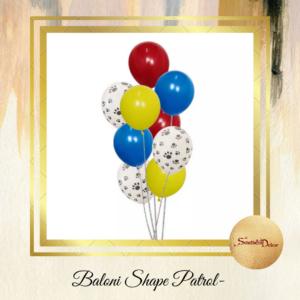 Baloni Patrol shape 10 kom S152-3