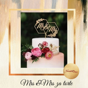 Mr i Mrs za tortu S673